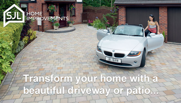 Transform your home with a beautiful driveway or patio.